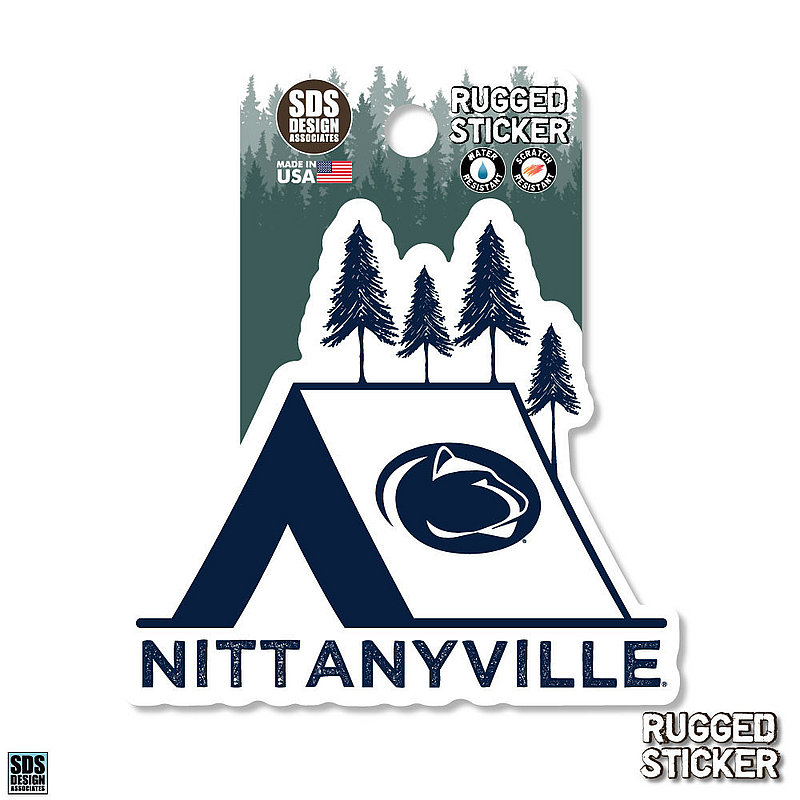 Penn State Nittanyville Rugged Sticker Nittany Lions (PSU)