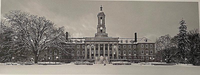 Penn State Old Main Postcard Nittany Lions (PSU)