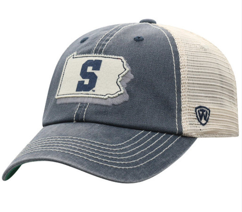 Penn State PA Outline Offload Trucker Hat Nittany Lions (PSU)