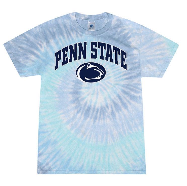 Penn State Pastel Lagoon Tie Dye Tee