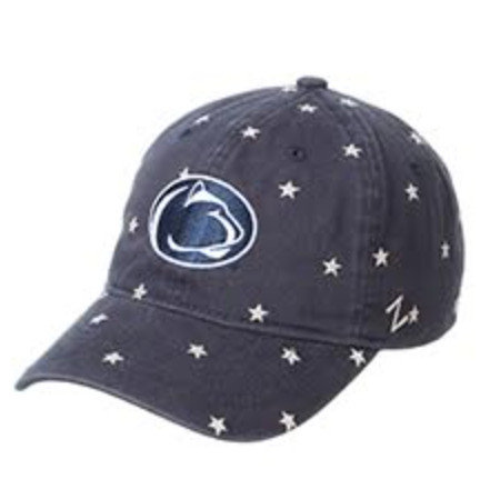 Penn State Patriotic Freebird Stars Adjustable Hat Nittany Lions (PSU)