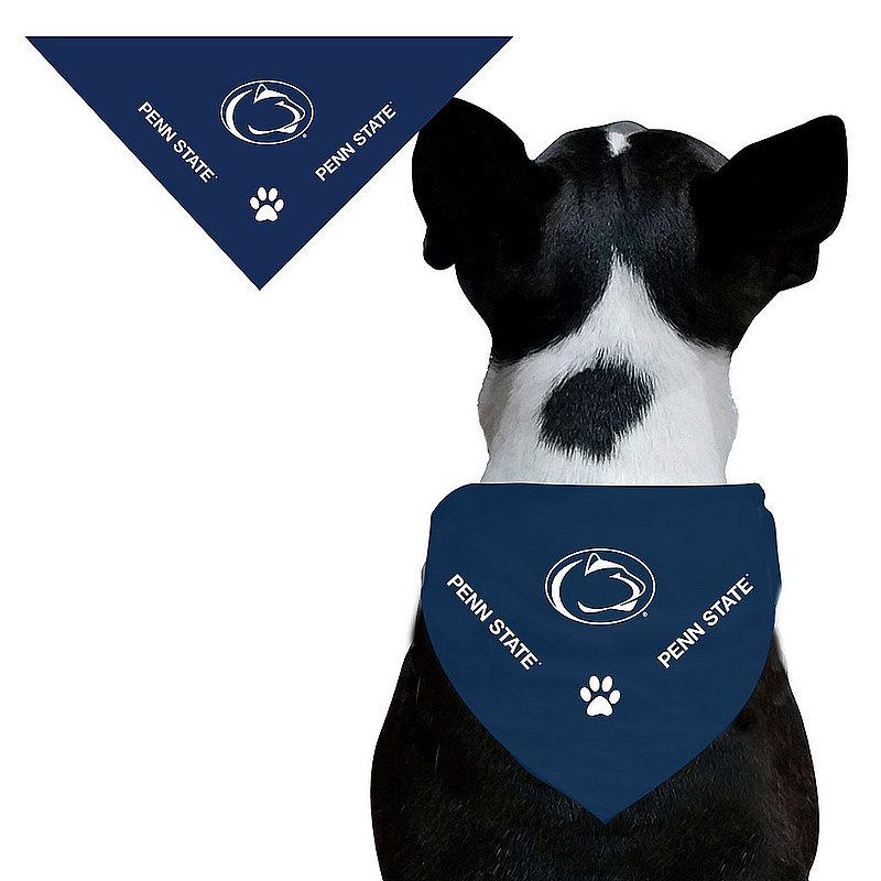 Penn State Paw Navy Dog Bandana Nittany Lions (PSU)