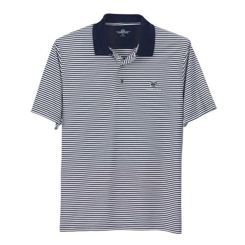 Penn State Performance Polo Shirt Striped Varsity Nittany Lions (PSU) 2993