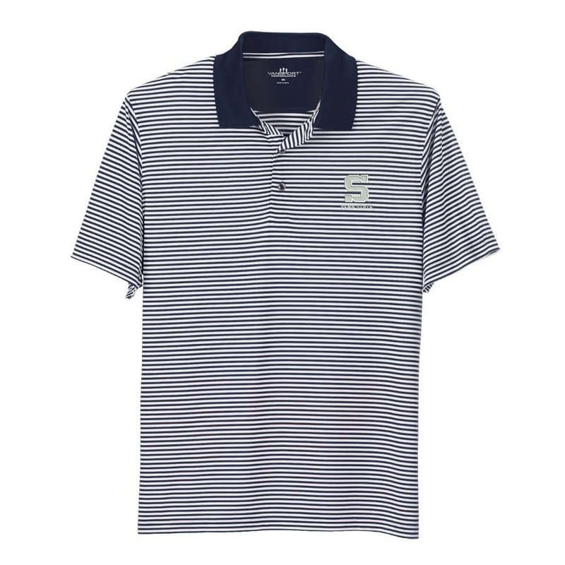 Penn State Performance Polo Striped Block S Nittany Lions (PSU)