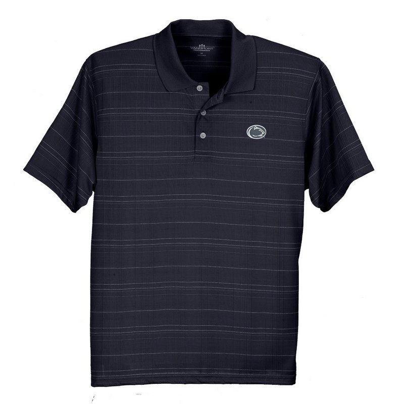 Penn State Performance Polo Textured Nittany Lions (PSU) 2953