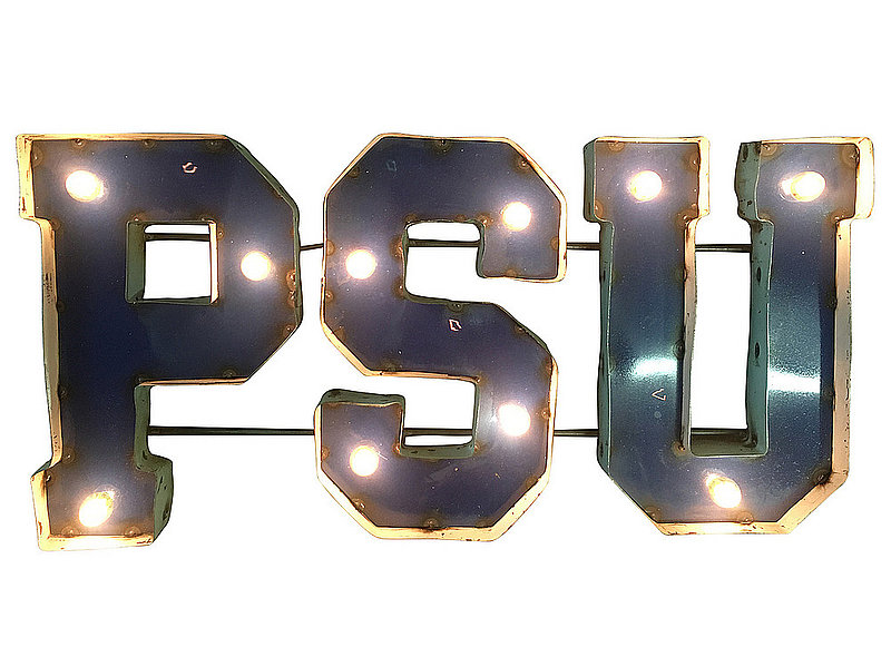 Penn State PSU Recycled Metal Light Up Sign Nittany Lions (PSU)