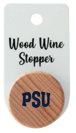 Penn State PSU Wood Bottle Stopper Nittany Lions (PSU)