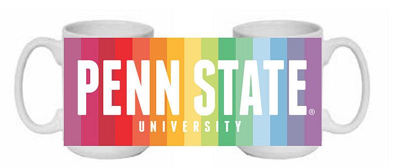 Penn State Rainbow Mug Nittany Lions (PSU)