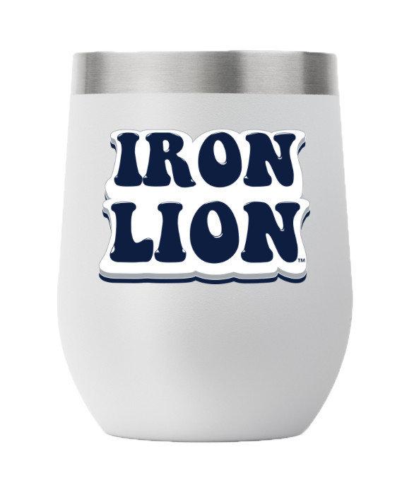 Penn State Retro 12oz Iron Lion Stemless Tumbler