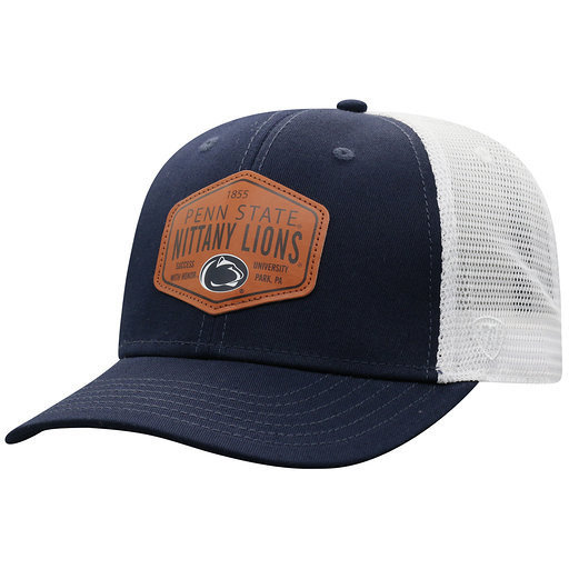 Penn State Retro Adjustable Trucker Patch Hat
