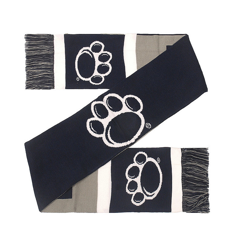 Penn State Reversible Color Block Big Logo Scarf Nittany Lions (PSU)