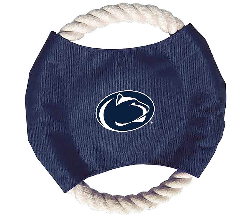 Penn State Rope Dog Disc Toy Nittany Lions (PSU)