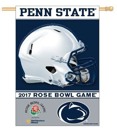 Penn State Rose Bowl Flag Banner 27 x 37
