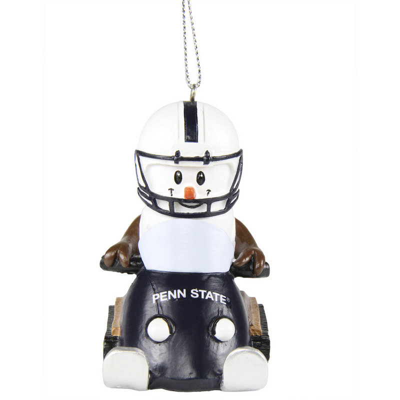 Penn State Smores Snowmobile Ornament Nittany Lions (PSU)