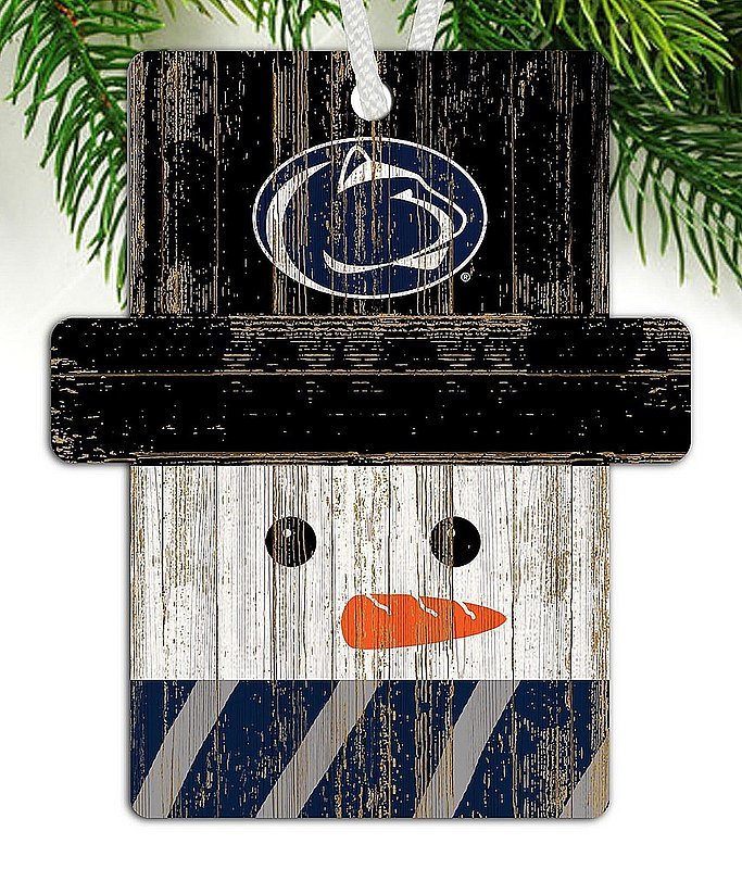 Penn State Snowman Holiday Ornament Nittany Lions (PSU)