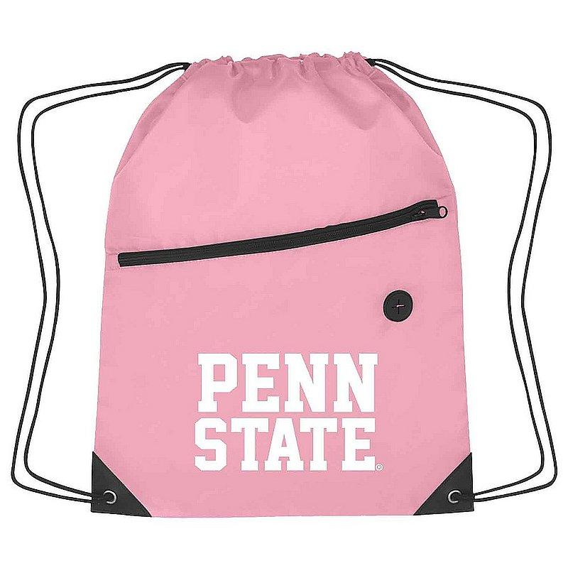 Penn State Sport Drawstring Bag Pink