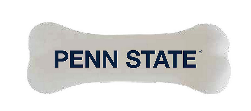 Penn State Squeaky Bone Dog Toy Nittany Lions (PSU)