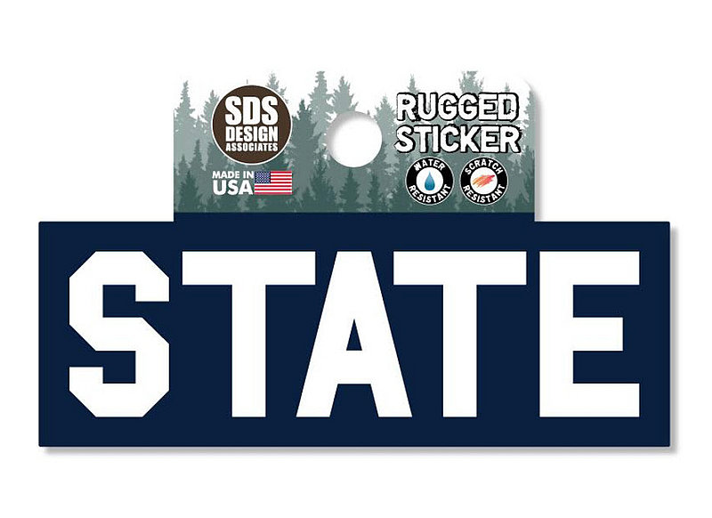 Penn State State Navy Rugged Sticker Nittany Lions (PSU)