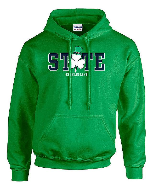 Penn State State Shenanigans Irish Green Hooded Sweatshirt Nittany Lions (PSU)