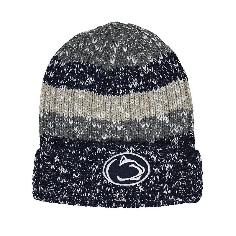 Penn State Striped Knit Winter Hat Nittany Lions (PSU)