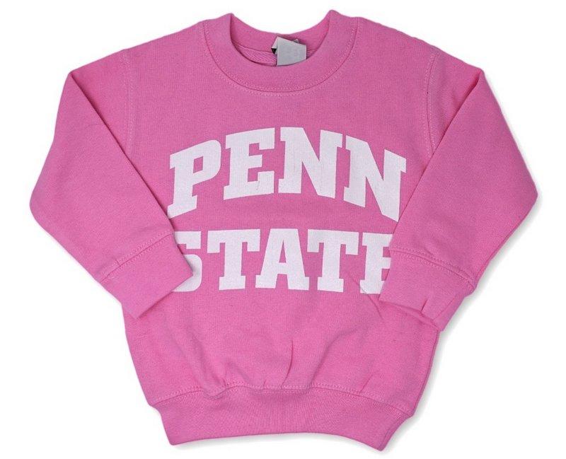 Penn State Toddler Crewneck Sweatshirt Pink Nittany Lions (PSU)