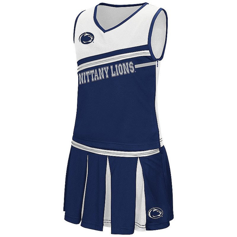 Penn State Toddler Girls Cheerleading Outfit Nittany Lions (PSU)