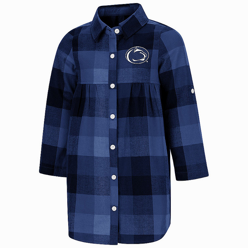 Penn State Toddler Girls Plaid Scooter Dress Nittany Lions (PSU)