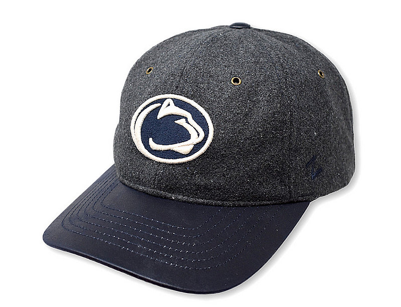 Penn State Tweed Flat Brim Hat Charcoal Nittany Lions (PSU)