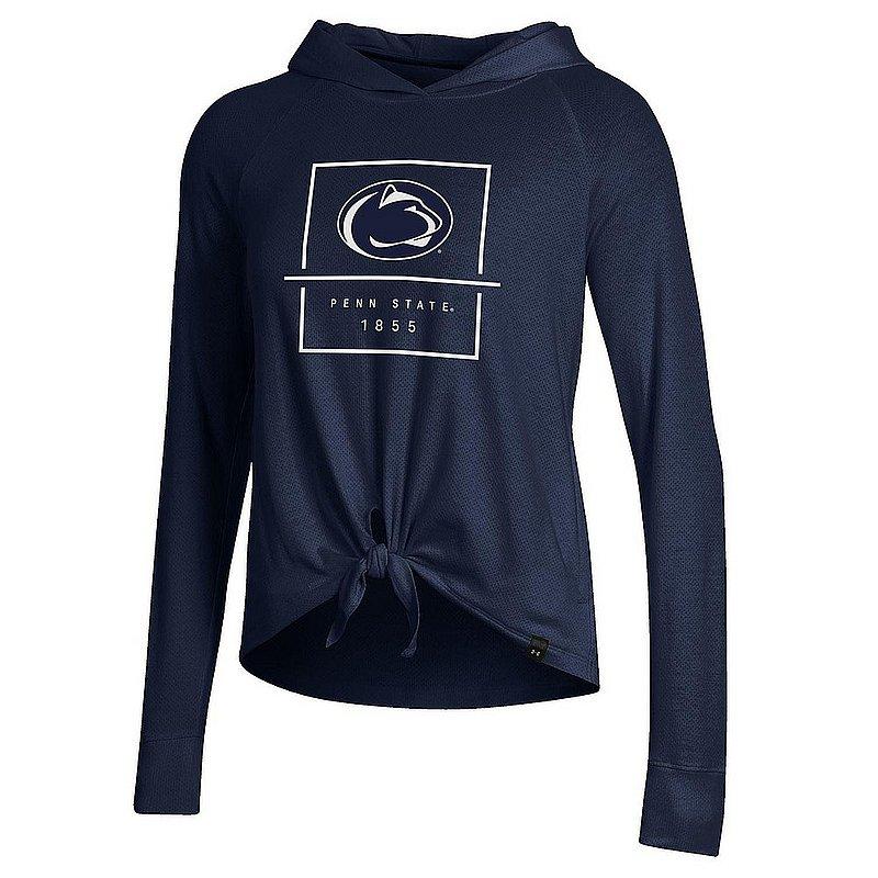 Penn State Under Armour Women's Pinhole Tie Hoodie Nittany Lions (PSU) (Under Armour )