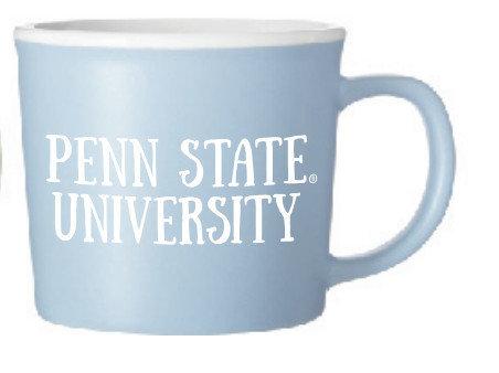 Penn State University 10 oz Light Blue Mug Nittany Lions (PSU)