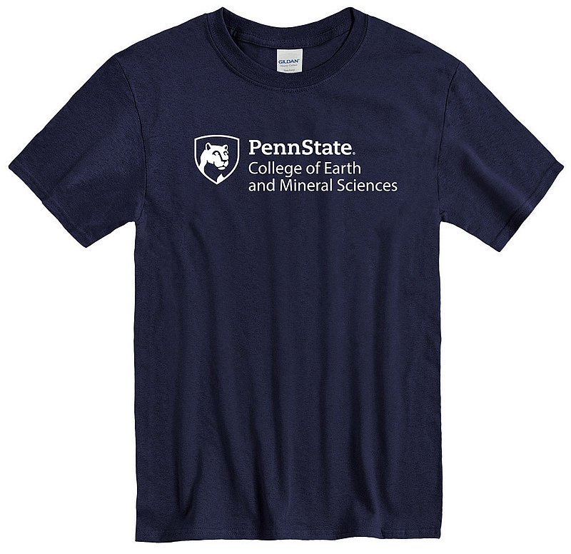 Penn State University College of Earth & Mineral Sciences T-Shirt Nittany Lions (PSU)