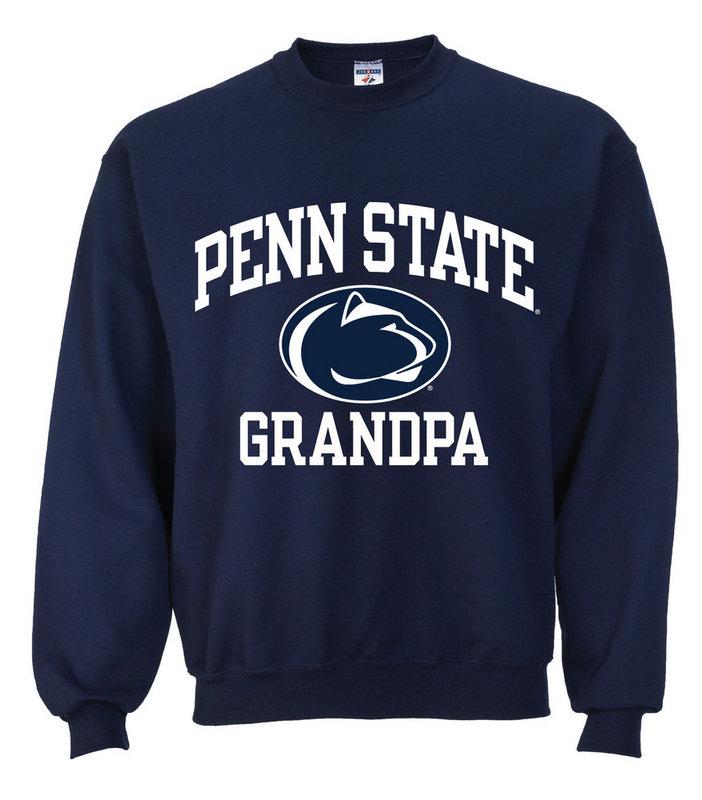 Penn State University Grandpa Crewneck Sweatshirt Nittany Lions (PSU)