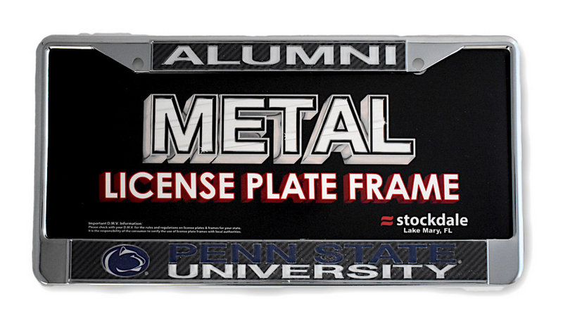 Penn State University Inlaid Alumni Metal License Plate Frame Nittany Lions (PSU)