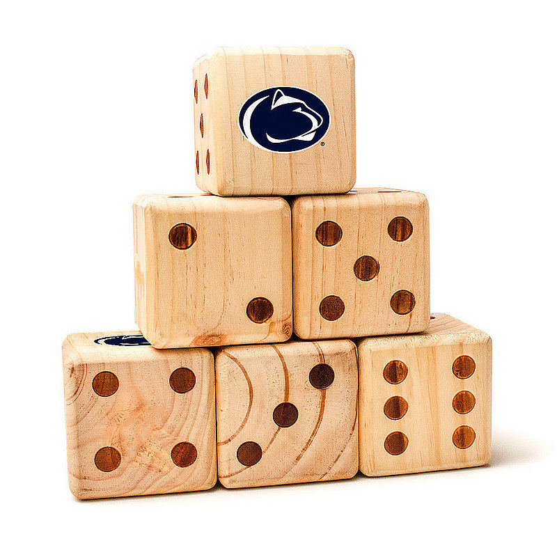 Penn State University Nittany Lions Yard Dice