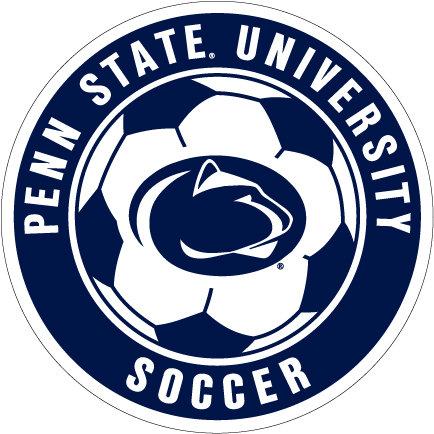 """Penn State University Soccer Ball Magnet - 4"""""""