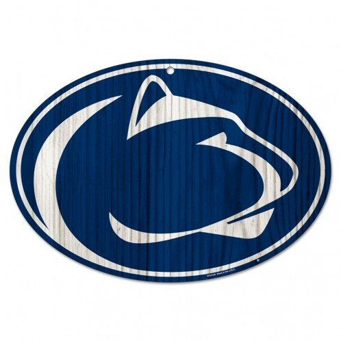 Penn State University Wood Lion Head Sign Nittany Lions (PSU)