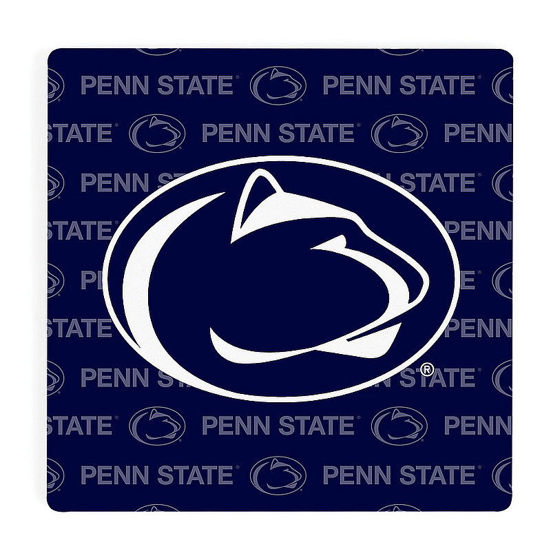 Penn State Varsity Repeating Navy Single Ceramic Coaster Nittany Lions (PSU)