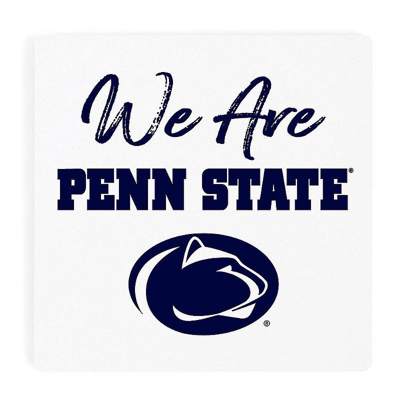 Penn State We Are Script Single Ceramic Coaster Nittany Lions (PSU)