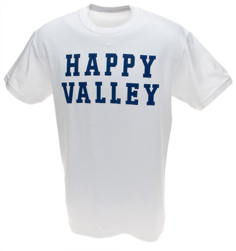 White Happy Valley T-shirt