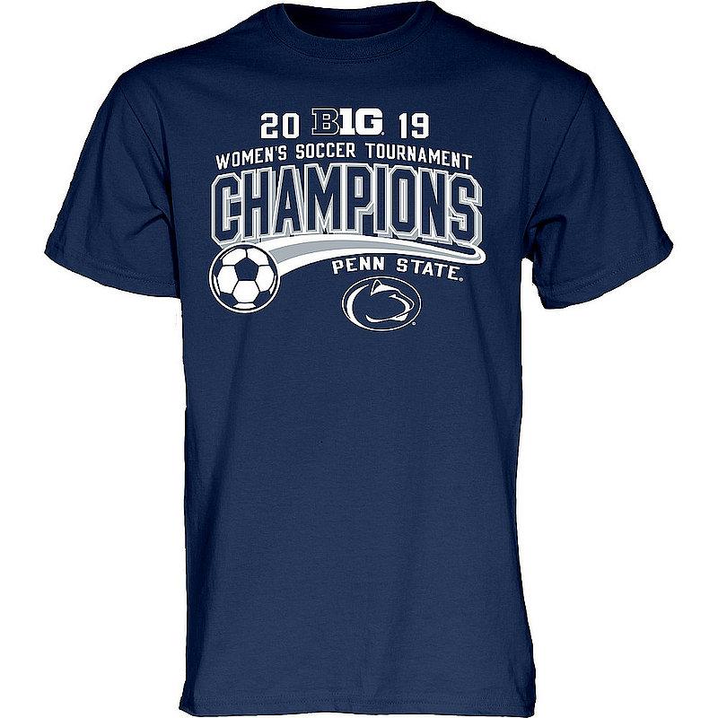 Penn State Women's 2019 Soccer Big Ten Champions T-Shirt Nittany Lions (PSU)