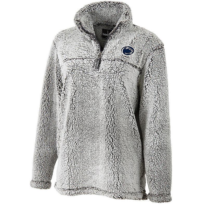Penn State Women's Frost Grey Sherpa Quarter Zip Nittany Lions (PSU)