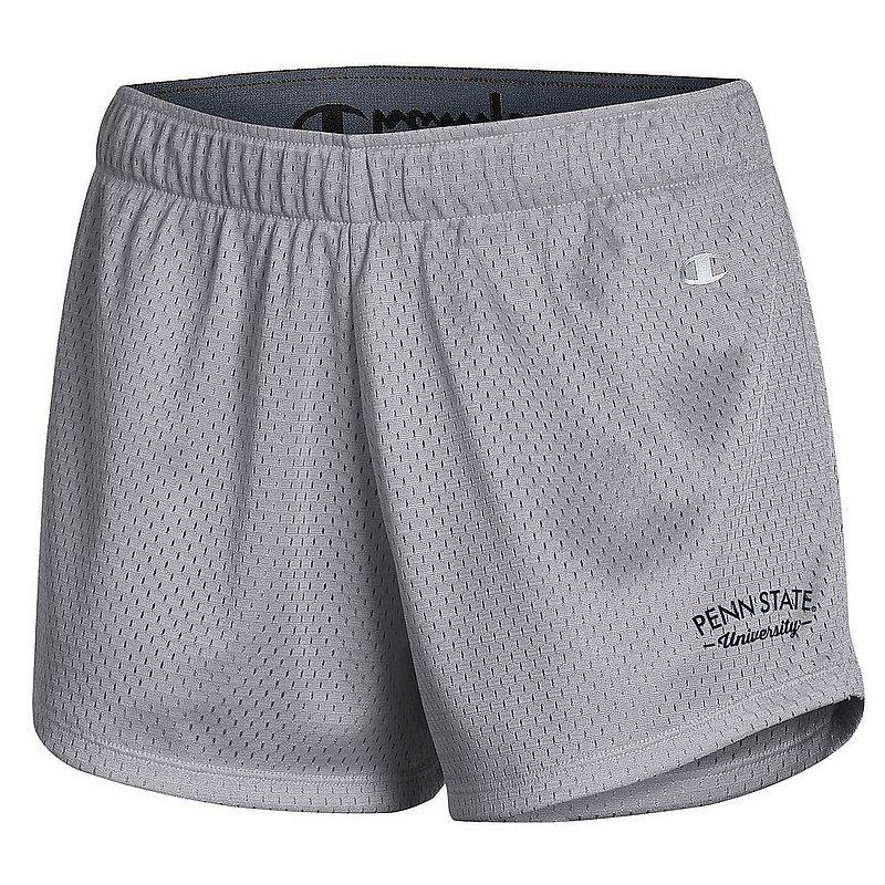 Penn State Women's Grey Champion Mesh Shorts Nittany Lions (PSU)