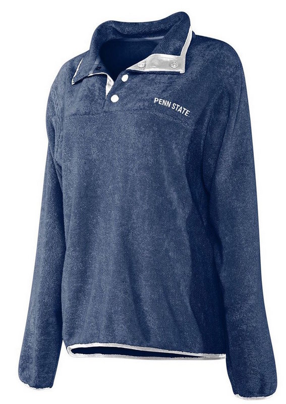 Penn State Women's Lopped Terry Snap Pullover Nittany Lions (PSU)
