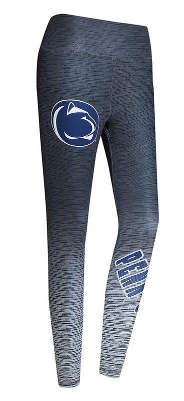 Penn State Women's Nittany Lion Static Yoga Leggings Charcoal Nittany Lions (PSU)