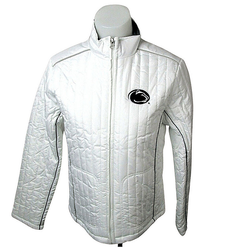 Penn State Women's White Winter Jacket