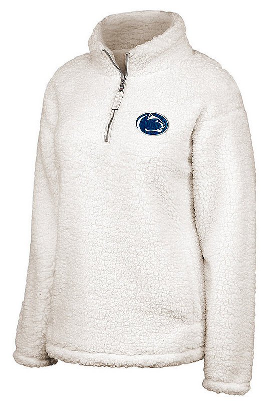 Penn State Women's Winter White Sherpa Quarter Zip Nittany Lions (PSU)