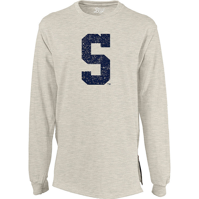 Penn State Womens Block S Oatmeal Long Sleeve Nittany Lions (PSU)