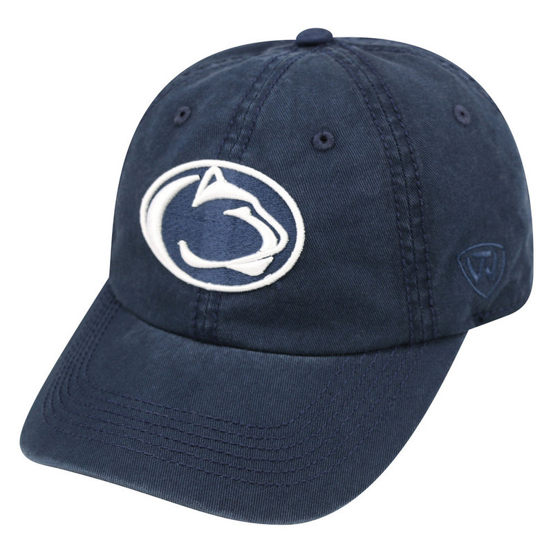 Penn State Womens Hat Navy Lion Head Relaxed Fit