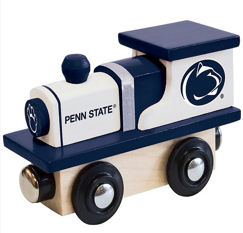Penn State Wood Train Engine Toy Nittany Lions (PSU)
