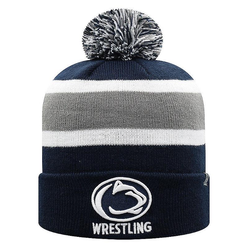 Penn State Wrestling Pom Knit Hat Nittany Lions (PSU)